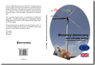 Monetary democracy and climate policy in consideration of efficiency